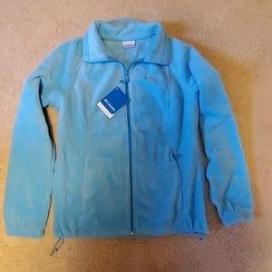 Columbia fleece jacket.  Size L.  NWT